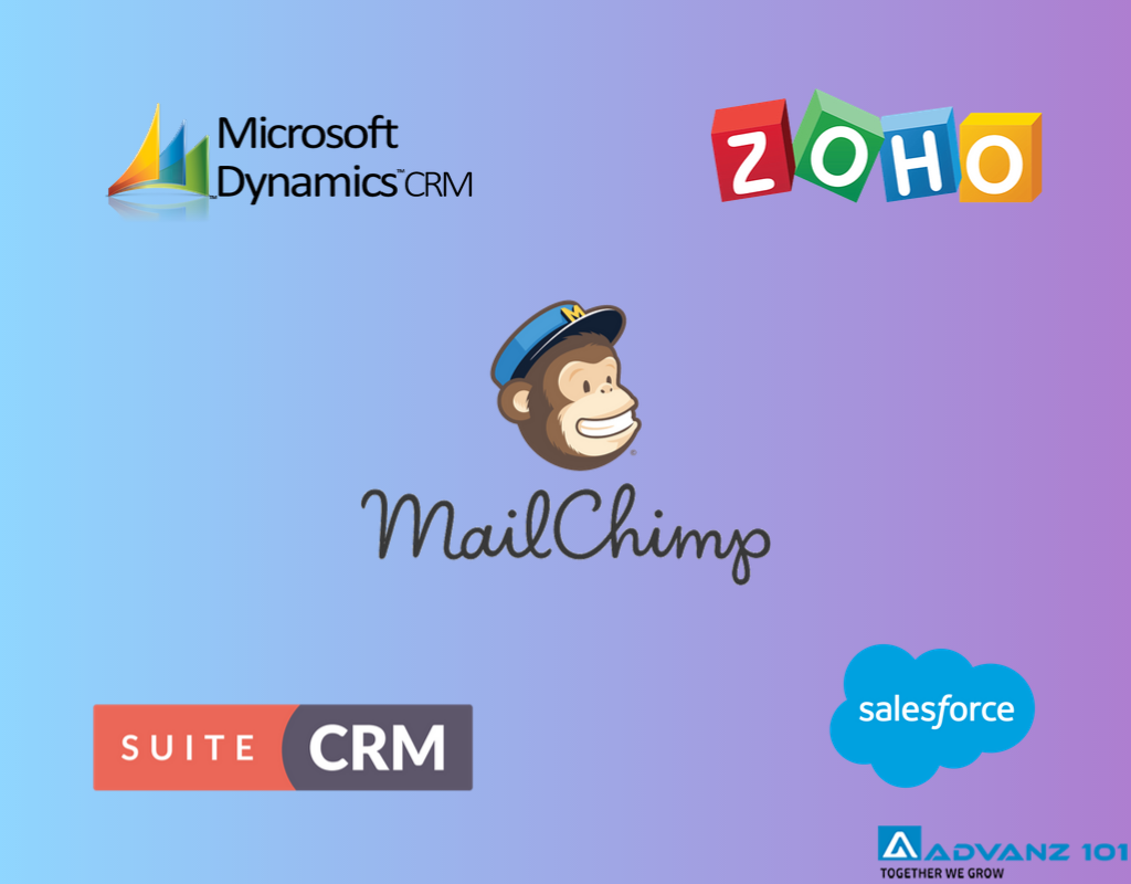 mailchimp integration with CRM systems